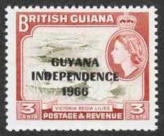 Guyana - Scott #1A MH (3) - Guyana (1966-...)