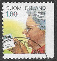 Finland SG1142 1988 Posts And Telecommunications (1st Issue) 1m.80 Good/fine Used [39/31814/6D] - Finland