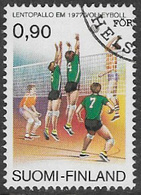 Finland SG924 1977 European Volleyball Championships 90p Good/fine Used [39/31815/6D] - Finland