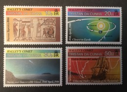 TRISTAN DA CUNH - MNH** - 1986  - # 384/387 - Tristan Da Cunha