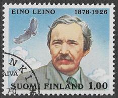 Finland SG935 1978 Birth Centenary Of Eino Leino 1m Good/fine Used [39/31816/6D] - Finland