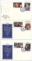 St. Vincent, Grenadines 1986 3 FDCs Royal Wedding - Prince Andrew & S. Ferguson - St.Vincent & Grenadines