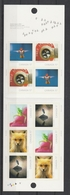 2010 Canada Canadian Geographic's Wildlife Photography Fauna Nature Bird Full Booklet MNH - Stamps