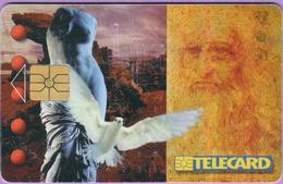 Télécarte Tchéquie °° 1997 - De Vinci Et Colombe - 150 Kc - R. - Tchéquie