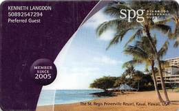 SPG Starwood Preferred Guest 2005 Member Card - Other