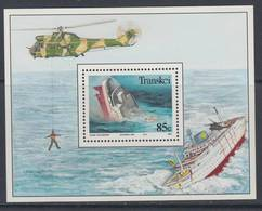 D101006 Transkei 1994 Shipwrecks Ships Boiats Helicopter M-s MNH - Afrique Du Sud Afrika RSA Sudafrika South Africa - Transkei