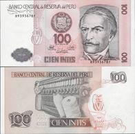 Peru 1987 - 100 Intis - Pick 133 UNC - Pérou