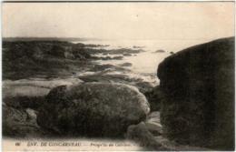 51dd 134 CPA - ENVIRRONS DE CONCARNEAU - PRESQU'ILE DE CABELLOU - Concarneau