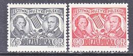 POLAND  526-7.     **    COMPOSER   CHOPIN - Music