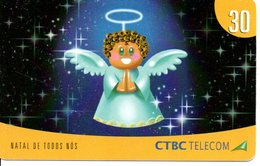Télécarte Brésil Noël - Merry Christmas - Ange Phonecard  (G19) - Noel
