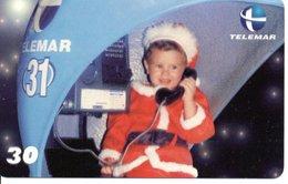 Télécarte Brésil Noël - Merry Christmas - Enfant Téléphone Phonecard  (G 21) - Noel