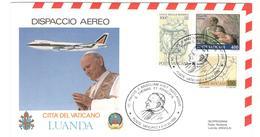 12266 - Visite Du Pape JEAN PAUL II - Angola