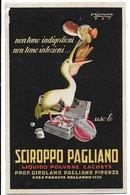 Sciroppo Pagliano  (Firenze). Anno 1927. - Pubblicitari