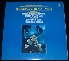"""CROSBY, STILL, NASH & YOUNG And Other – """"The Strawberry Statement"""" – 2 LP – 1971 – 64006 – Reprise Records - Rock"""