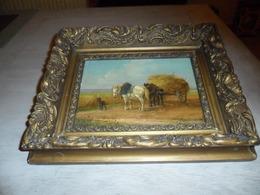 Peinture ( 21 X 15 Cm ) Sur Panneau   Schilderij Op Paneel  Gesigneerd - Oils