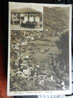 19666) CUNEO PRADLEVES VALLE GRANA PANORAMA E PARTICOLARE VIAGGIATA 1938 - Cuneo