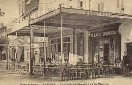 SANARY  Le Café Restaurant De La Marine RV - Sanary-sur-Mer