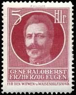 Reklamemarke: Generaloberst Erzherzog Eugen - Vignetten (Erinnophilie)