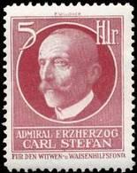 Reklamemarke: Admiral Erzherzog Carl Stefan - Vignetten (Erinnophilie)