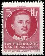 Reklamemarke: Gm. Erzherzog Carl Franz Josef - Vignetten (Erinnophilie)