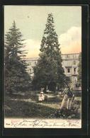 AK Meggen, Hotel Gottlieben Vom Garten Gesehen - LU Luzern