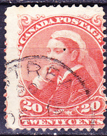Kanada - Königin Viktoria Nach Links (Mi.Nr.: 36) 1893 - Gest Used Obl - Used Stamps