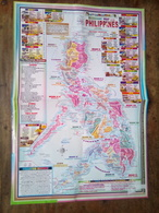 Economic Map Of The Philippines - Cartes Topographiques