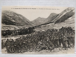 Valée De La Clairée Et Le Rosier. Bataillon De Chasseurs Dans Les Alpes. - Autres Communes