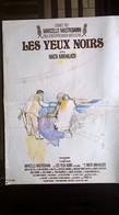 AFF CINE ORIG LES YEUX NOIRS (Mikhalkov/1987) 60X40 M Mastroianni S Mangano Palme à Cannes - Posters