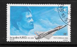 FRANCE Poste Aérienne 66 Hommage à L'aviatrice Jacqueline Auriol Avion Plane - Poste Aérienne
