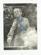 Cp, Scoutisme, Scouts Guides De France , être Prêt à Vivre L'aventure ,vierge,2 Scans - Scoutismo