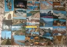 50 CARTOLINE PAESAGGISTICHE E NO - ITALIA ED ESTERE  (115) - Cartoline