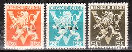 724G/I**  Lion Héraldique Surchargé -10% - Série Complète - TUBIZE - MNH** - LOOK!!!! - 1946 -10%