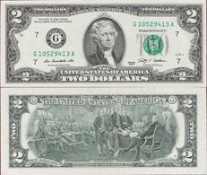 USA 2009 - 2 Dollars - Seria G - Pick NEW UNC - Billets De La Federal Reserve (1928-...)