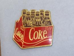 Pin's COCA COLA, PACK DE SIX BOUTEILLES - Coca-Cola