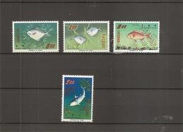 Taiwan -Formose-Poissons  ( 518/521 XXX -MNH) - 1945-... Repubblica Di Cina