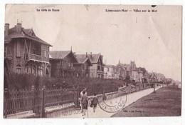 Carte Postale Lion Sur Mer Villas Sur La Mer  Animée - Other Municipalities