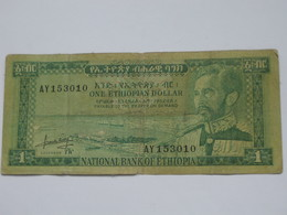 1 One Ethiopian Dollar 1966 - National Bank Of Ethiopia    **** EN  ACHAT IMMEDIAT  **** - Ethiopie