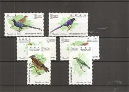 Taiwan -Formose - Oiseaux  ( 580/585 XXX -MNH) - Nuovi