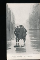 75 -- Paris Inonde --  Rue De Solferino - Inondations De 1910