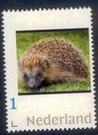 Nederland 2018   Egel  Hedgehog  Igel    2                Postfris/mnh/sans Charniere - Period 1980-... (Beatrix)