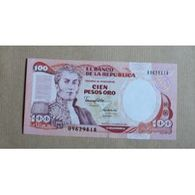 Billet Colombie : 100 Pesos - Colombie