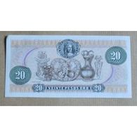 Billet Colombie : 20 Pesos - Colombie