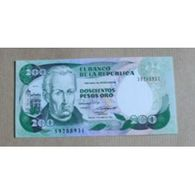 Billet Colombie : 200 Pesos - Colombie