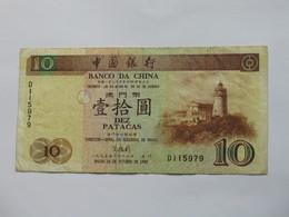10 Dez Paacas MACAU - 1995 - Banco Da China    **** EN  ACHAT IMMEDIAT  **** - Macao