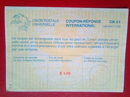 International Reply Coupon $1.05 - United States