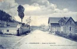 Pussemange - Route De Charleville (animée Douane Douanier, Edit. Olivier Simon, Hôtellier, 1909) - Vresse-sur-Semois