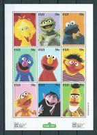 2000 Sesame Street/Sesamstraat/comics Fiji/Cayman Islands MNH/Postfris/Neuf Sans Charniere - Postzegels