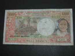 1000 Mille Francs 1996 - Institut D'émission D'outre Mer **** EN ACHAT IMMEDIAT ***** - Papeete (French Polynesia 1914-1985)