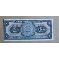 Billet Mexique : 1 Peso - Mexique